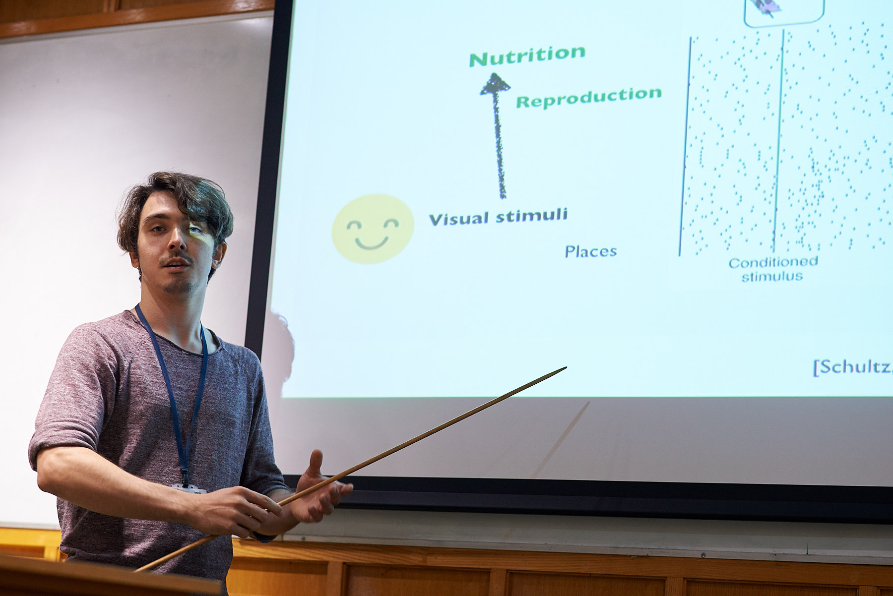 Unit student Moritz Moller presents his latest research on computational models of reward learning in the basal ganglia.