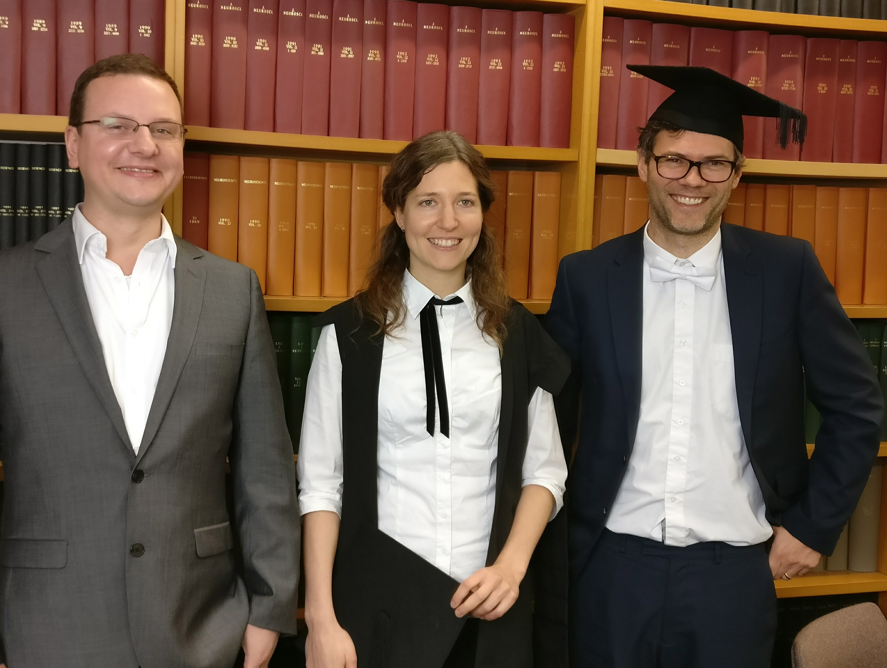 Petra Fischer successfully defends her D.Phil. thesis