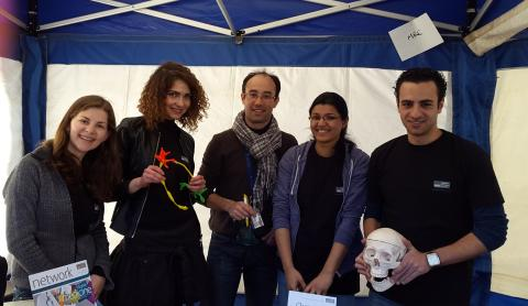 Unit members engage at the Oxfordshire Science Festival 2015