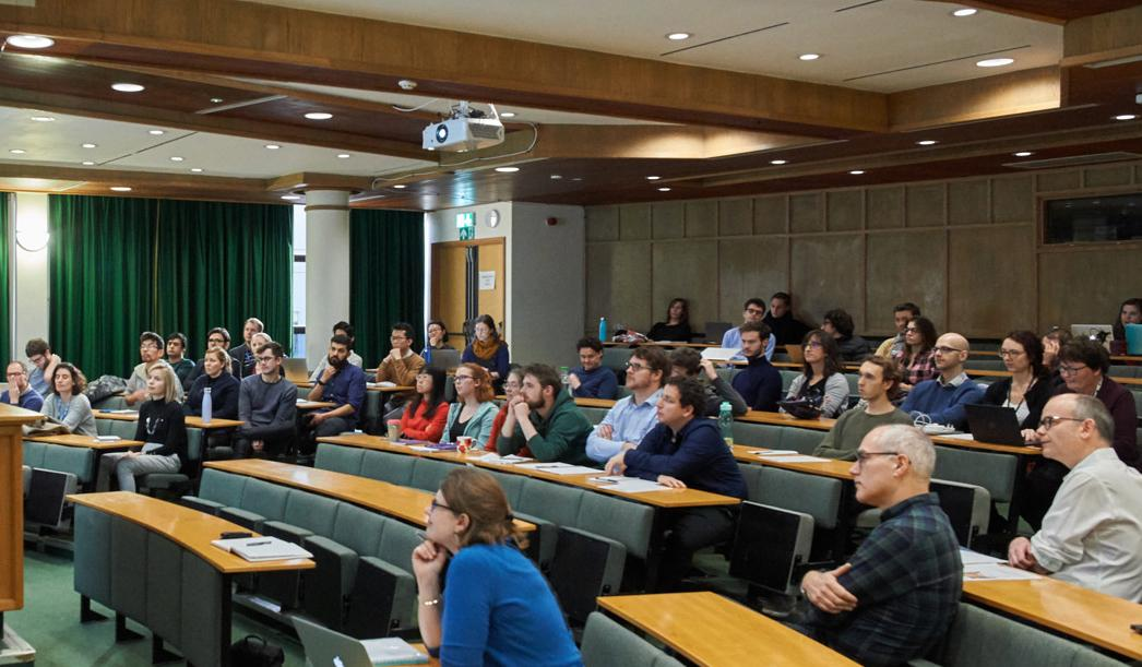 Photo of audience at the MRC BNDU's Training and Careers Development Event, January 2020.
