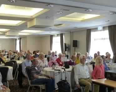 Photo of Aaudience members at the 2019 Forum organised by the East Midlands Parkinson's Research Support Network.